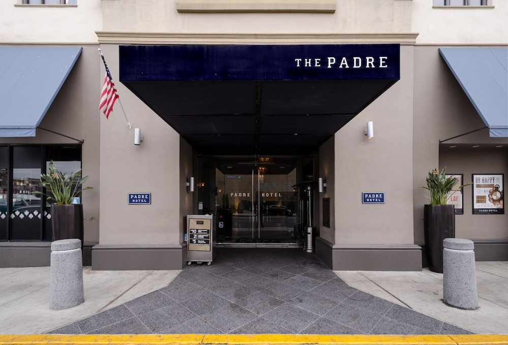 Property Entrance, The Padre Hotel