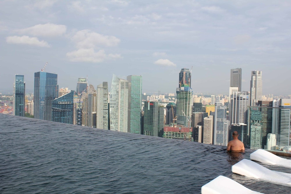 Pool, Marina Bay Sands