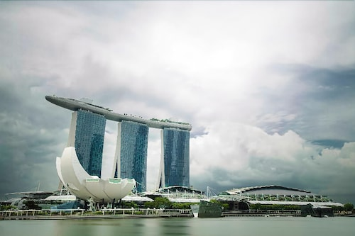 View from Property, Marina Bay Sands