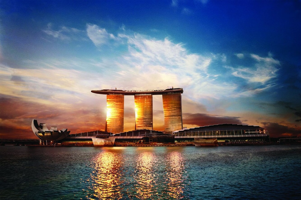 Exterior, Marina Bay Sands