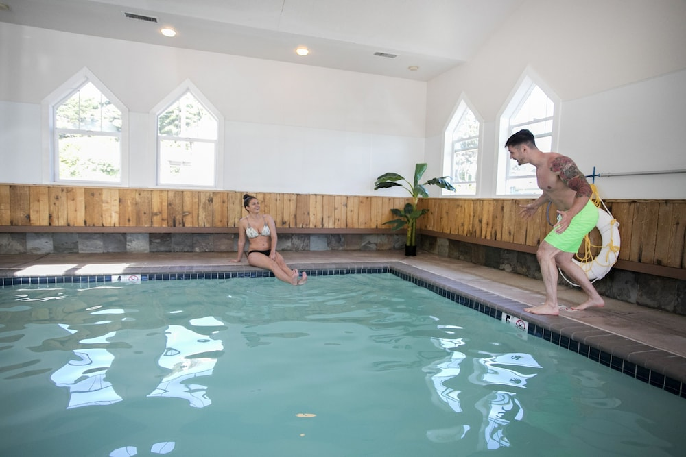 Indoor Pool, The Waves Hotel