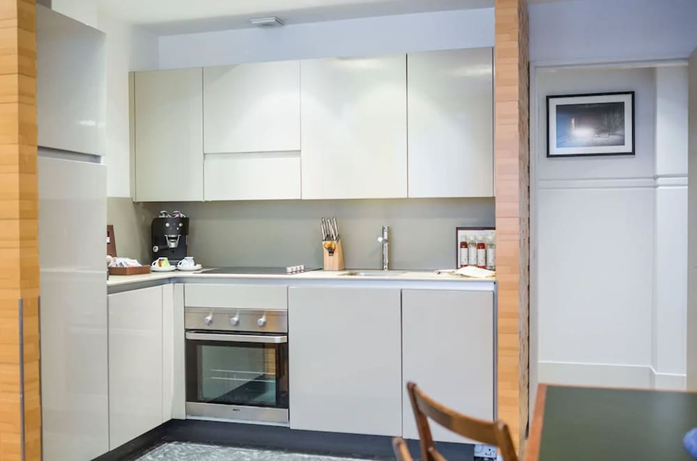 Private Kitchen, Town Hall Hotel & Apartments