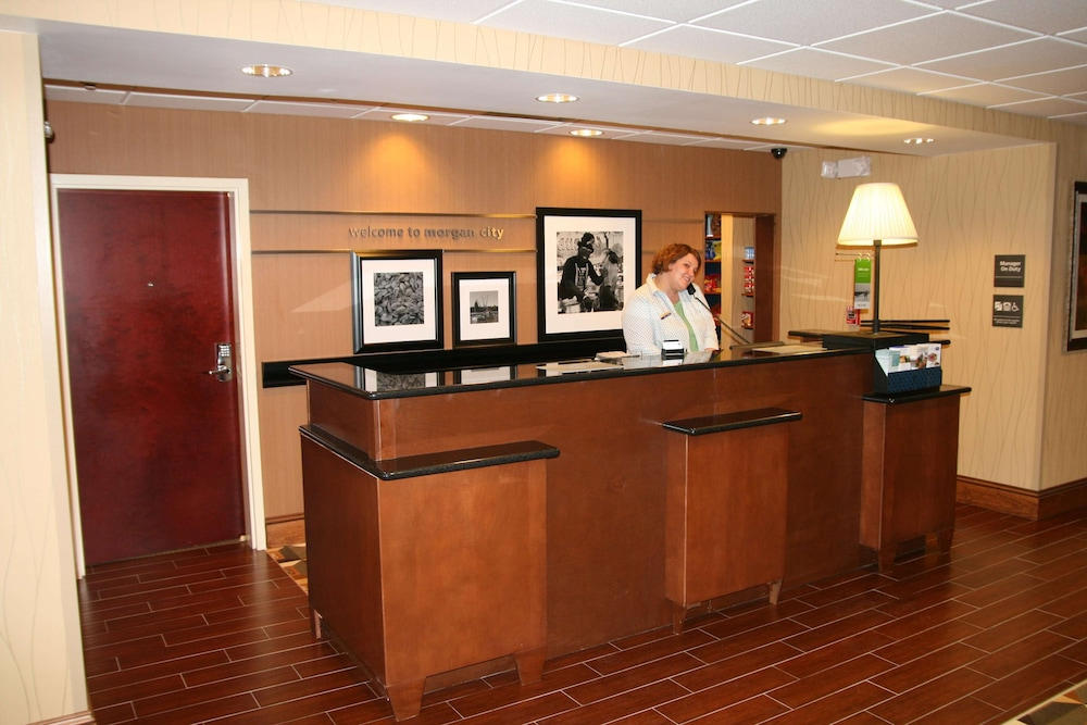 Reception, Hampton Inn & Suites Morgan City, LA