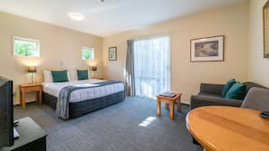 In-room safe, soundproofing, iron/ironing board, cots/infant beds