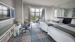 Daunenbettdecken, Select-Comfort-Betten, Minibar, Zimmersafe