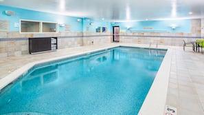 Indoor pool, seasonal outdoor pool