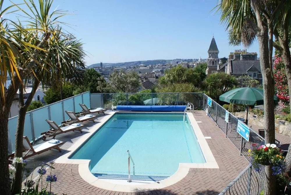 Outdoor Pool, Hotel Penzance
