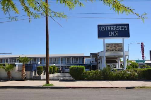 Front of Property, University Inn