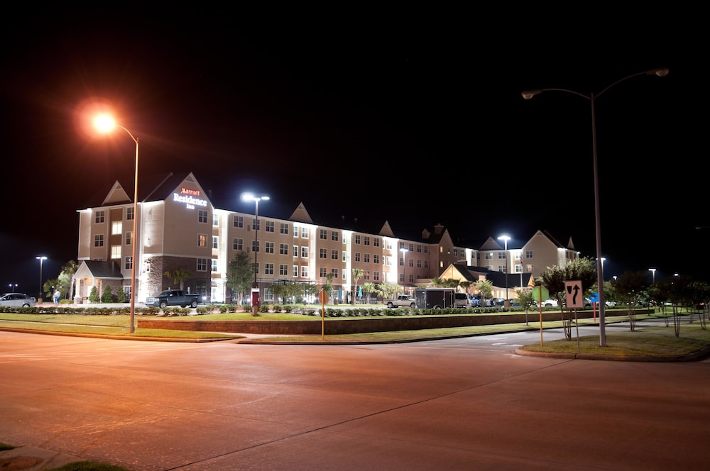Front of Property - Evening/Night, Residence Inn by Marriott Houston Katy Mills