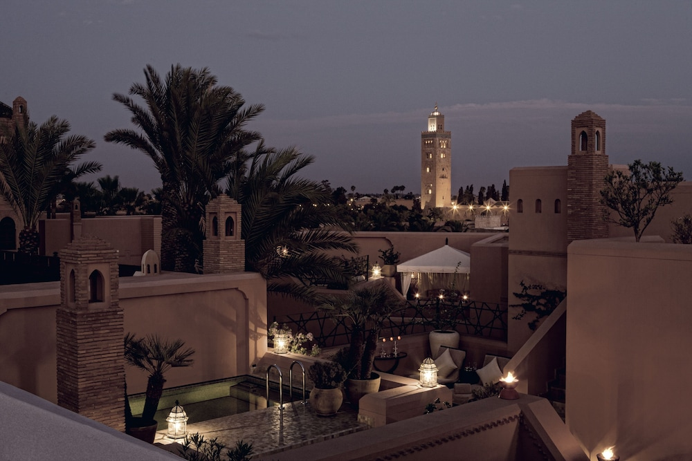 View from Room, Royal Mansour Marrakech