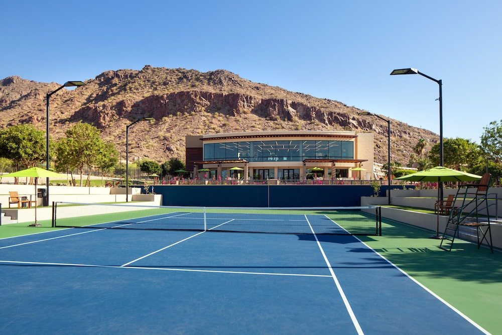 Tennis Court, The Canyon Suites at The Phoenician, Luxury Collection