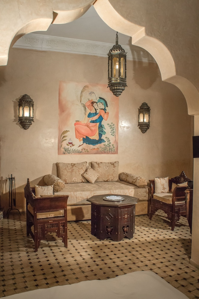 Living Area, Demeures d'orient Riad Deluxe & Spa