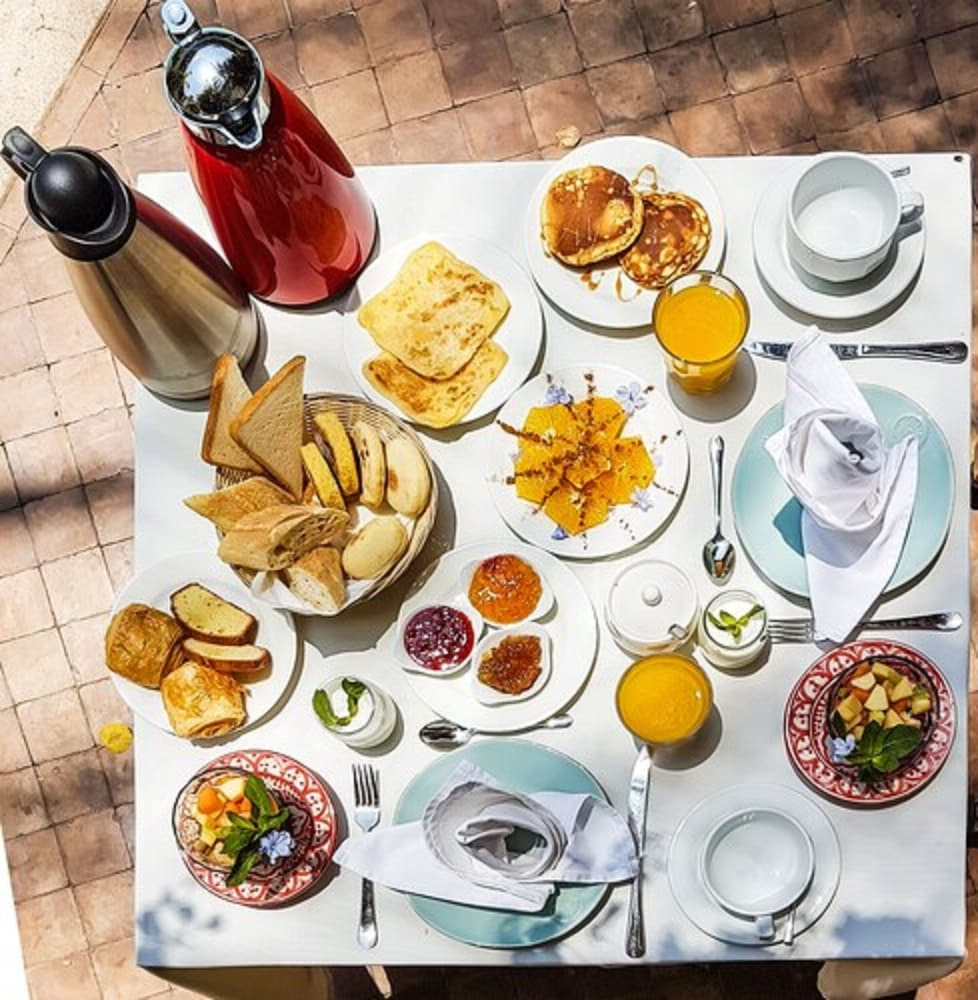 Breakfast Meal, Demeures d'orient Riad Deluxe & Spa