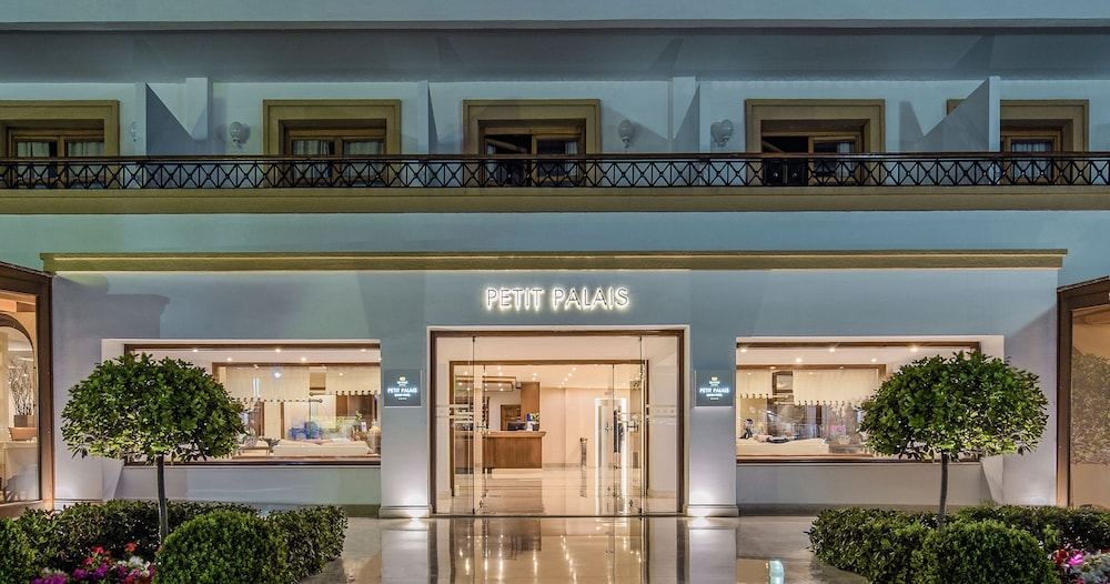 Front of Property - Evening/Night, Mitsis Petit Palais Beach Hotel