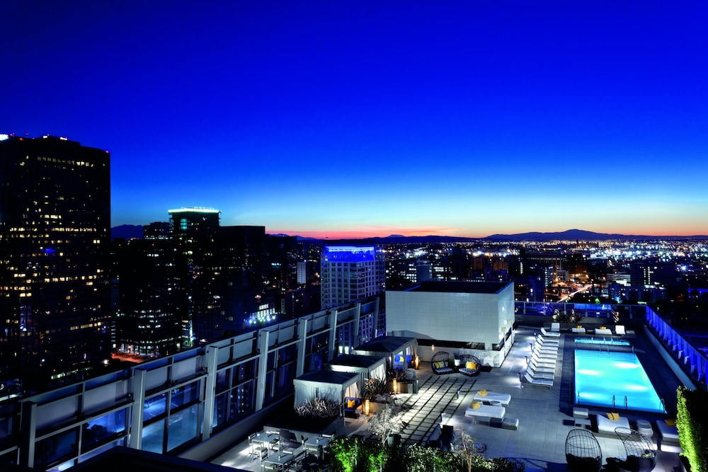Rooftop terrace, The Ritz-Carlton, Los Angeles