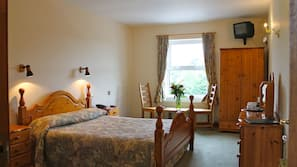 Soundproofing, iron/ironing board, rollaway beds, free WiFi