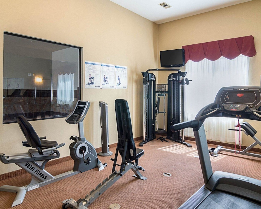 Fitness Facility, Comfort Inn & Suites Monahans