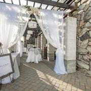 Huwelijksruimte buiten