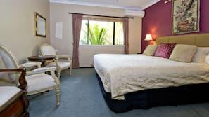 Surmatelas, coffre-forts dans les chambres, décoration personnalisée
