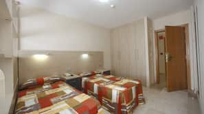 Desk, WiFi, bed sheets, wheelchair access