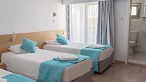 Pillow-top beds, in-room safe, iron/ironing board, free cots/infant beds