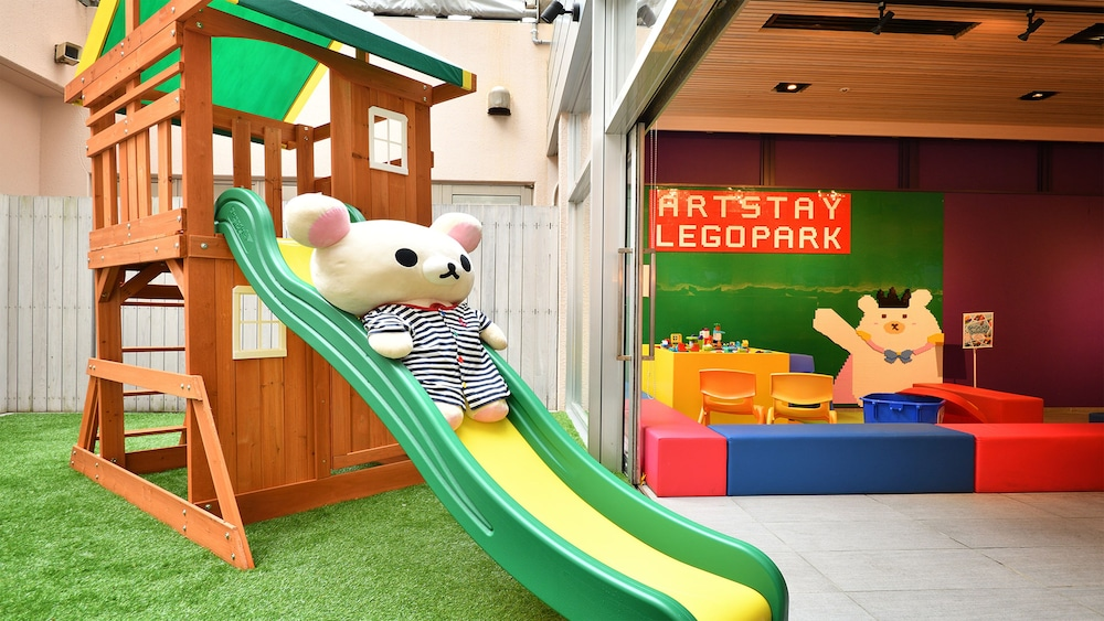 Children's Play Area - Outdoor, Hotel WBF Art Stay Naha Kokusai-dori
