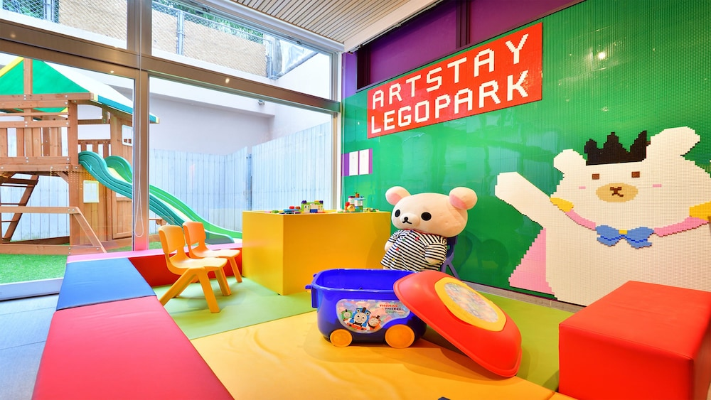 Children's Area, Hotel WBF Art Stay Naha Kokusai-dori