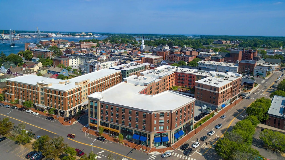 Aerial View, Residence Inn by Marriott Portsmouth Downtown/ Waterfront