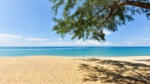 บนชายหาด, ทรายสีขาว, โยคะ