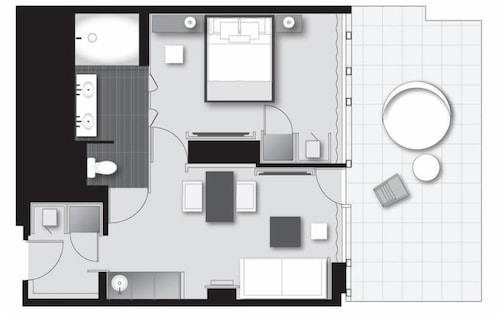 Floor plan, Andaz 5th Avenue - a concept by Hyatt