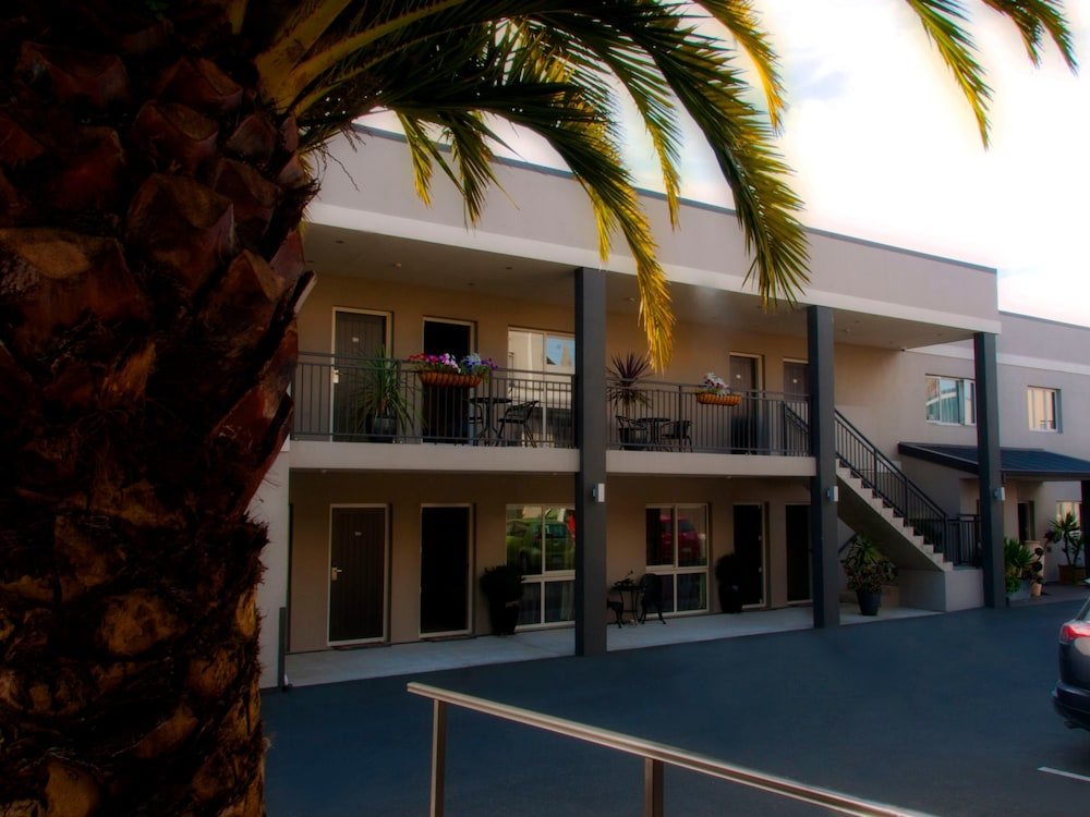 View from Room, Dunedin Palms Motel