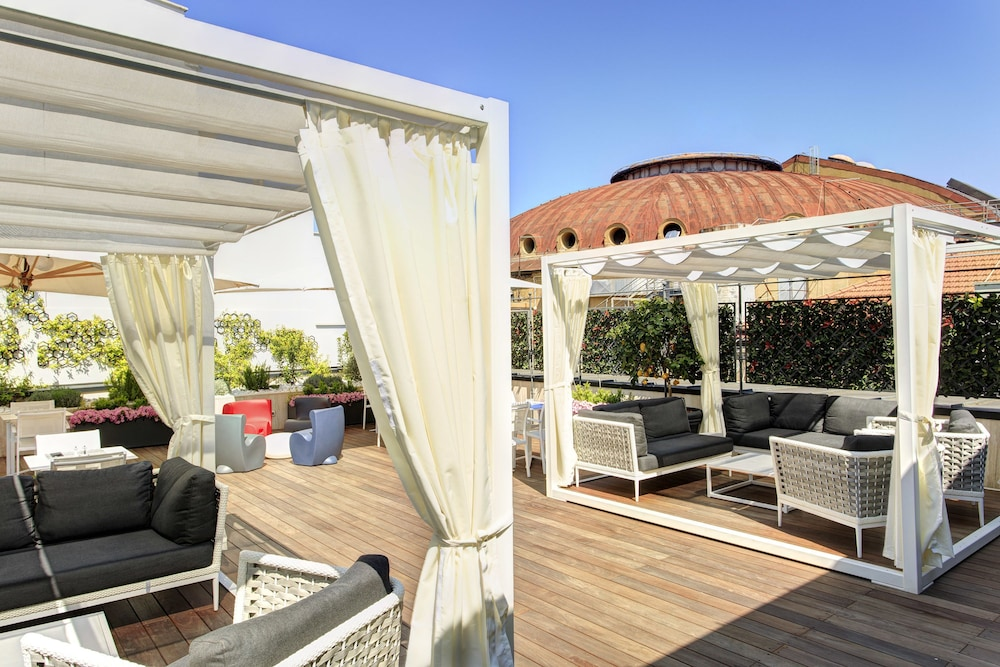 Terrace/Patio, iQ Hotel Roma