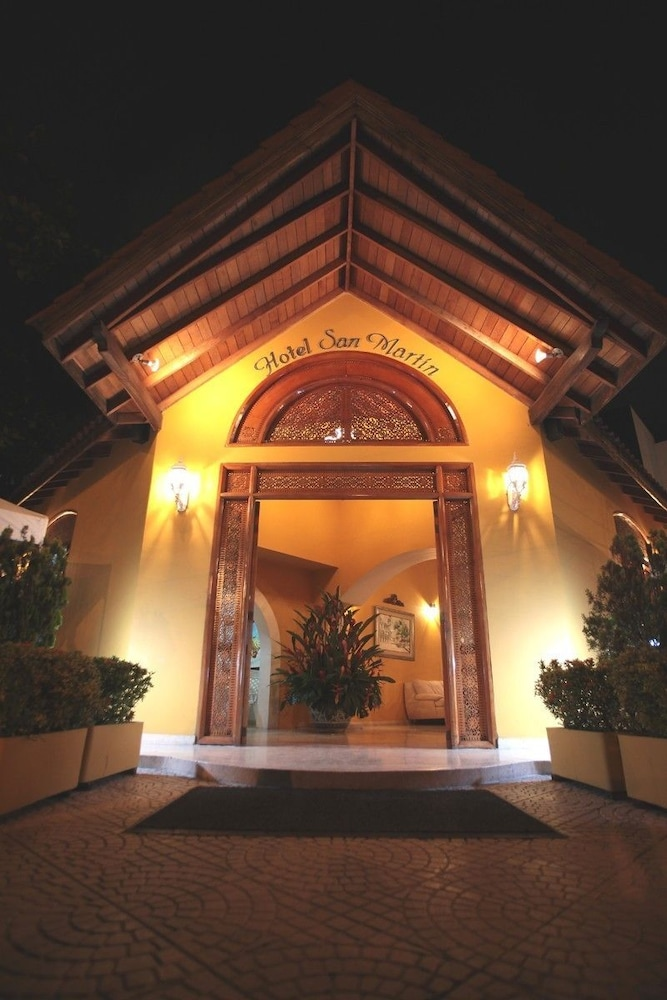 Front of Property - Evening/Night, Hotel San Martin
