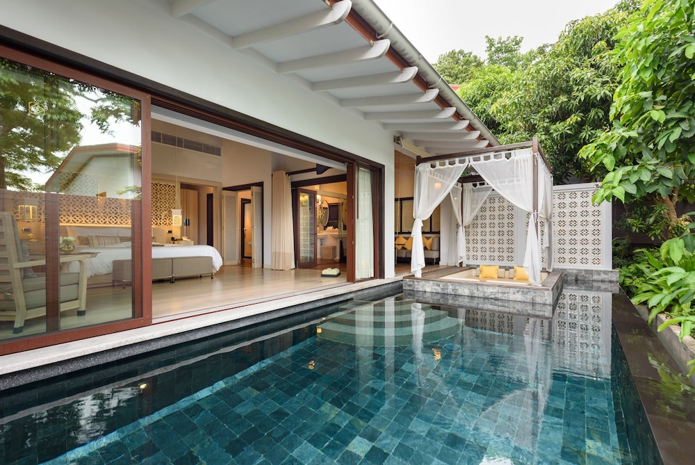 야외 수영장 (One Bedroom Pool Villa (adults only hotel))