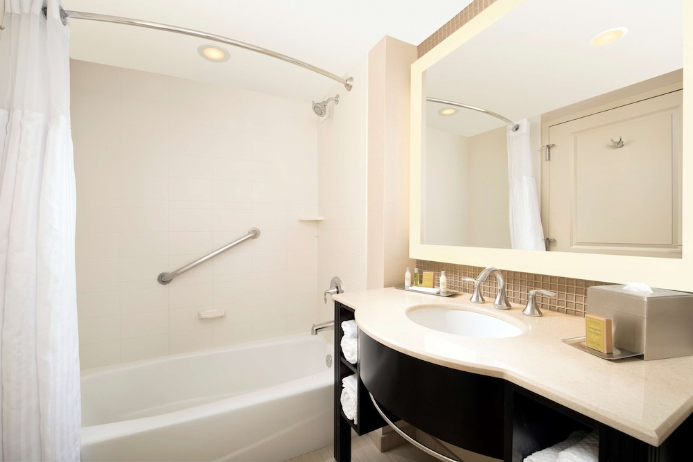 Bathroom, DoubleTree by Hilton Sterling - Dulles Airport