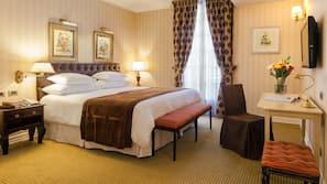 Ropa de cama de alta calidad, colchones Select Comfort, minibar