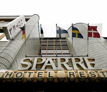 Front of Property, Hotel Sparre