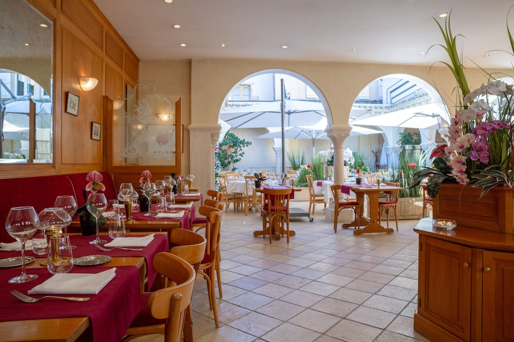 Restaurant, The Originals Boutique, Hôtel Le Rempart, Tournus