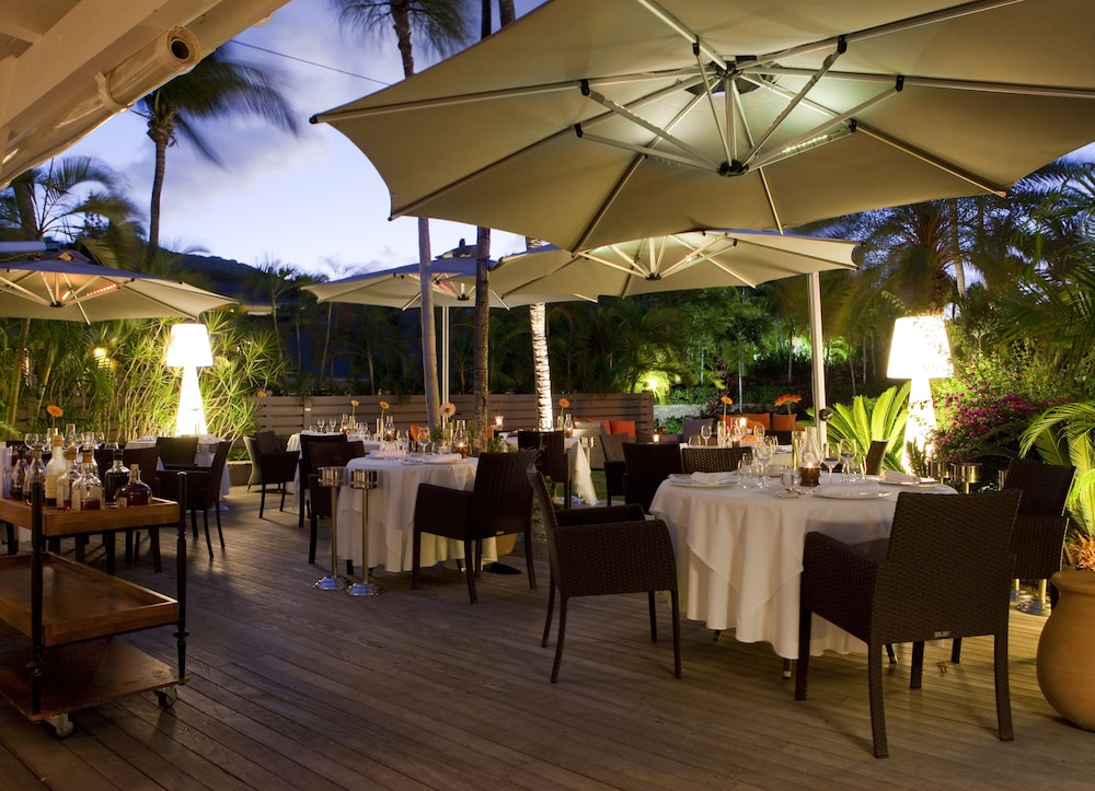 Outdoor Dining, Le Guanahani