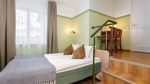 1 makuuhuone, tallelokero huoneessa, työpöytä, Wi-Fi