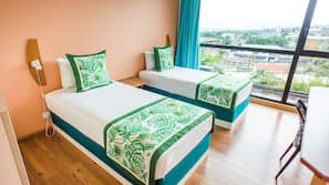Premium bedding, Select Comfort beds, in-room safe, blackout drapes