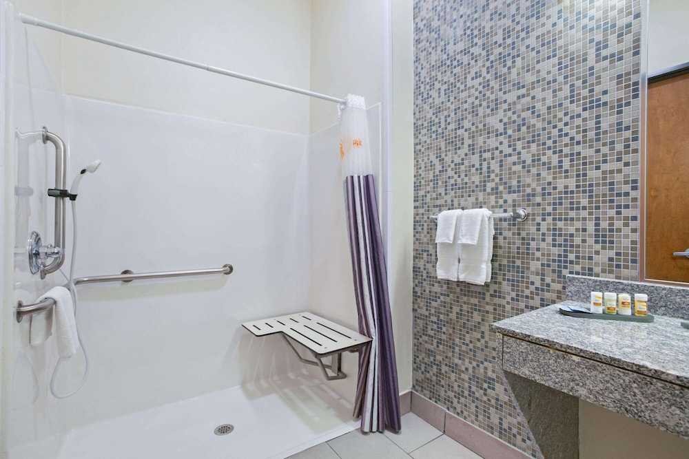 Bathroom Shower, La Quinta Inn & Suites by Wyndham Austin NW/Lakeline Mall