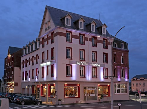 The Originals Boutique, Hôtel La Villa Marine, Le Tréport