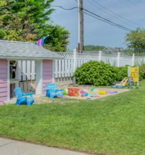 Children's Play Area - Outdoor, Periwinkle Inn - Cape May, NJ