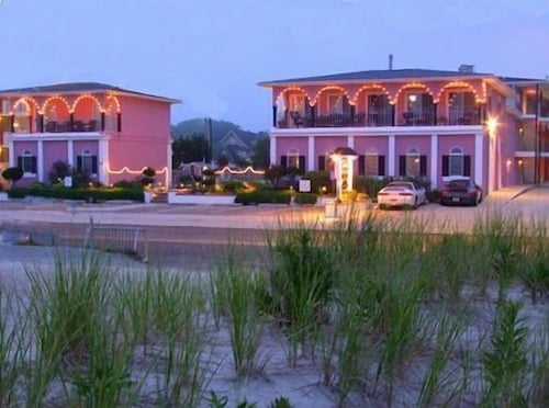 Front of Property - Evening/Night, Periwinkle Inn - Cape May, NJ