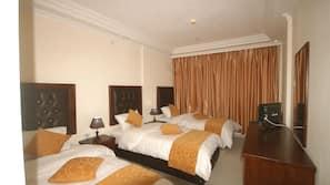 Select Comfort beds, in-room safe, desk, free WiFi