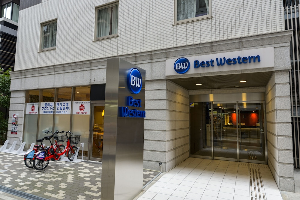 Property Entrance, Best Western Hotel Fino Osaka Shinsaibashi