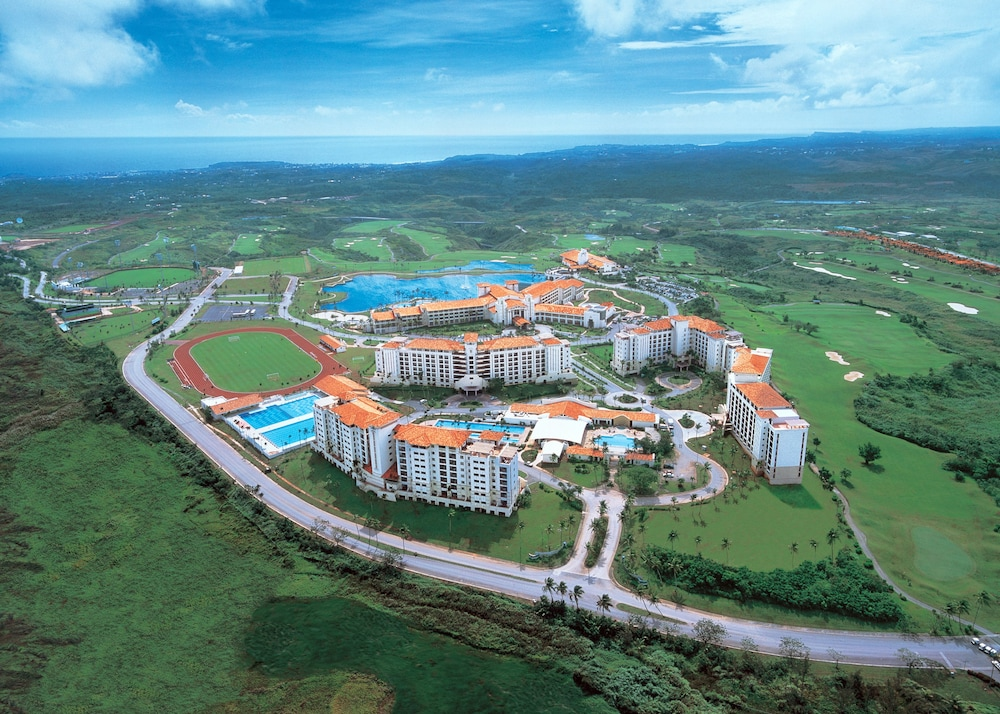 Aerial View, Leopalace Resort Guam