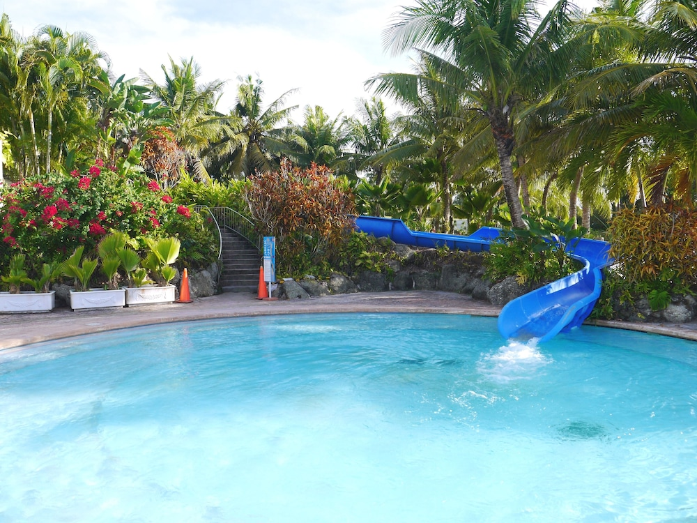 Waterslide, Leopalace Resort Guam