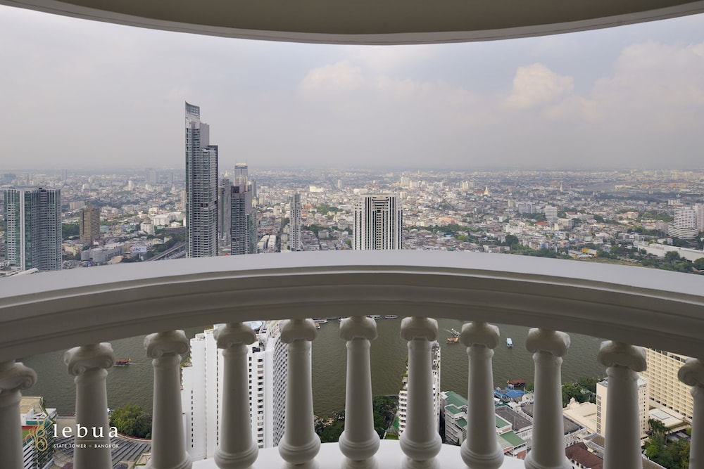 Balcony View, Tower Club at lebua (The World's First Vertical Destination)